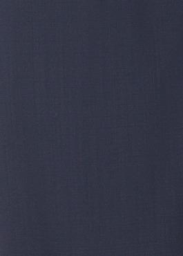 Costume 2 pièces Slim en laine unie bleu marine 2 - Father And Sons