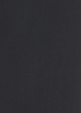 Costume 2 pièces Slim en laine unie noire 2 - Father And Sons