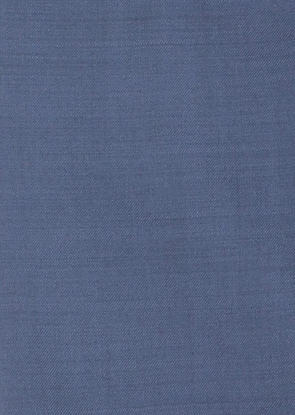 Costume 2 pièces Slim en laine unie bleu chambray - Father and Sons 31870