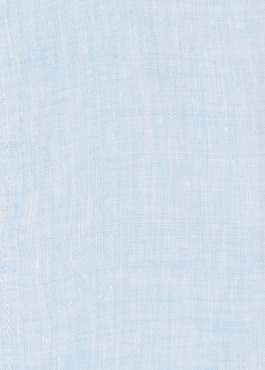 Chemise sport Slim en lin uni bleu ciel 2 - Father And Sons