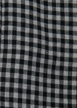 Chemise sport Slim en coton tissé jacquard à carreaux gris 2 - Father And Sons