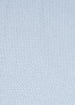 Chemise habillée Regular en coton façonné bleu ciel à motif fantaisie blanc 2 - Father And Sons