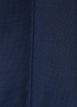 Costume 2 pièces Regular en laine unie bleu roi 2 - Father And Sons