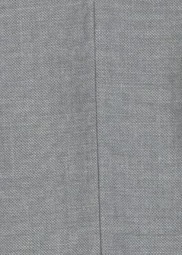 Costume 2 pièces Regular en laine façonnée unie gris clair 2 - Father And Sons