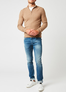 Jean skinny en coton saphir 2 - Father And Sons