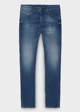 Jean skinny en coton saphir 1 - Father And Sons