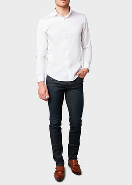 Jean skinny en coton stretch bleu brut 2 - Father And Sons