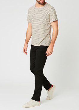 Jean skinny en coton stretch noir brut 2 - Father And Sons