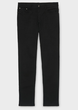 Jean skinny en coton stretch noir brut 1 - Father And Sons