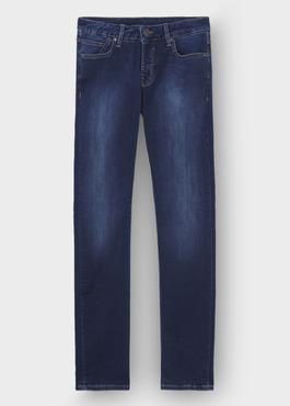 Jean skinny en coton hyperflex bleu 1 - Father And Sons