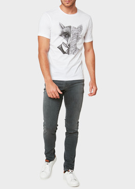 Jean skinny Edition Limitée Ardif en coton stretch gris 2 - Father And Sons