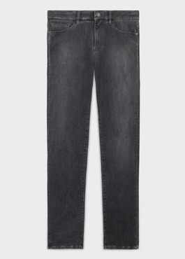 Jean skinny Edition Limitée Ardif en coton stretch gris 1 - Father And Sons