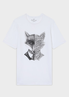 Tee-shirt Edition Limitée Ardif manches courtes en coton blanc 1 - Father And Sons
