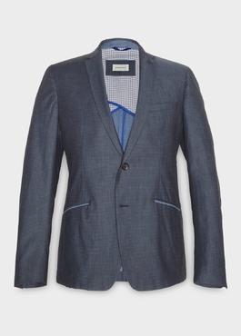 Veste casual slim bleue à motifs 1 - Father And Sons