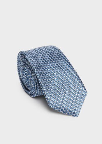 Costume 2 pièces Slim en laine sergée unie bleu indigo