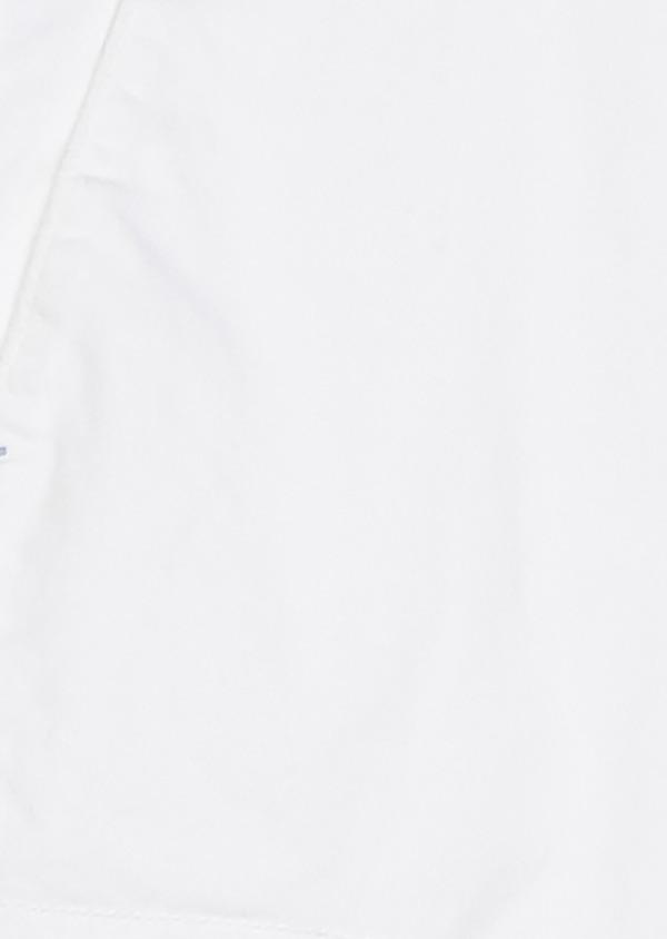 Bermuda cargo en coton uni blanc - Father and Sons 20382