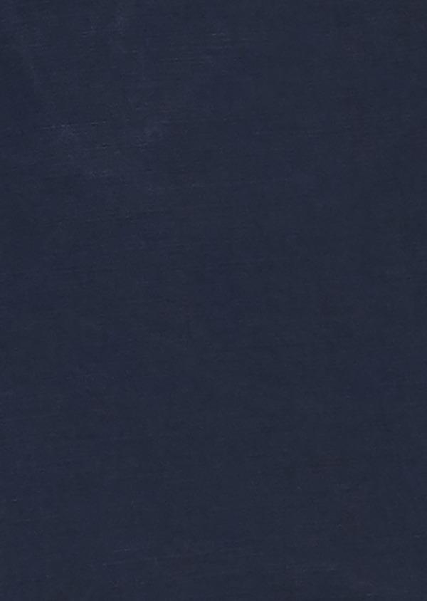 Bermuda en coton uni bleu indigo - Father and Sons 20388