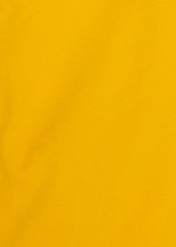 Bermuda en coton stretch uni jaune - Father and Sons 18860