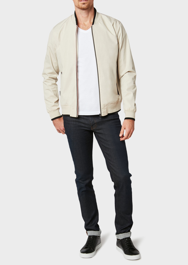 Blouson Teddy uni beige - Father and Sons 32004