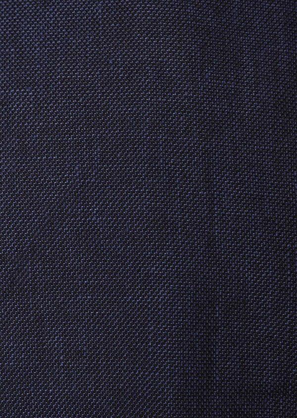 Blouson en lin et coton uni bleu - Father and Sons 31990