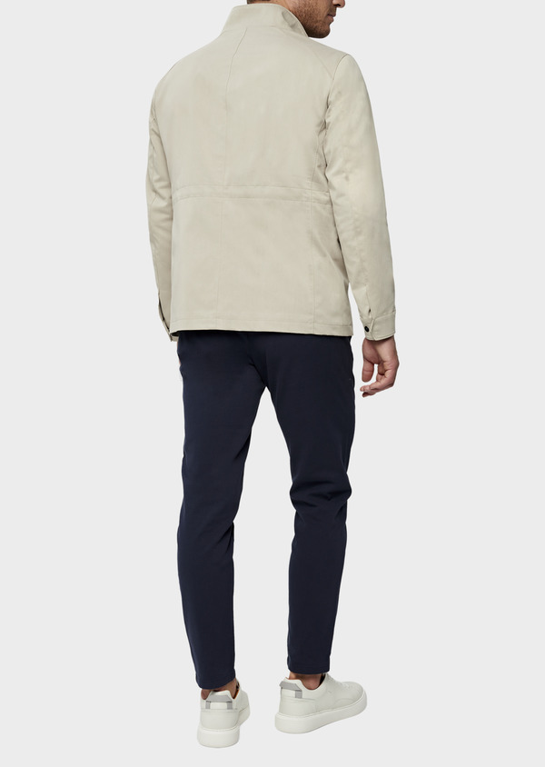 Parka courte unie beige - Father and Sons 38543