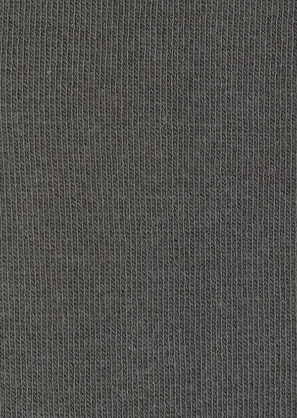 Chaussettes en coton mélangé uni vert kaki - Father and Sons 34796