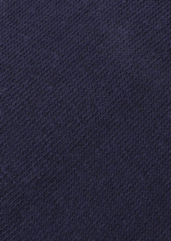 Chaussettes invisibles en coton mélangé uni bleu marine - Father and Sons 35897