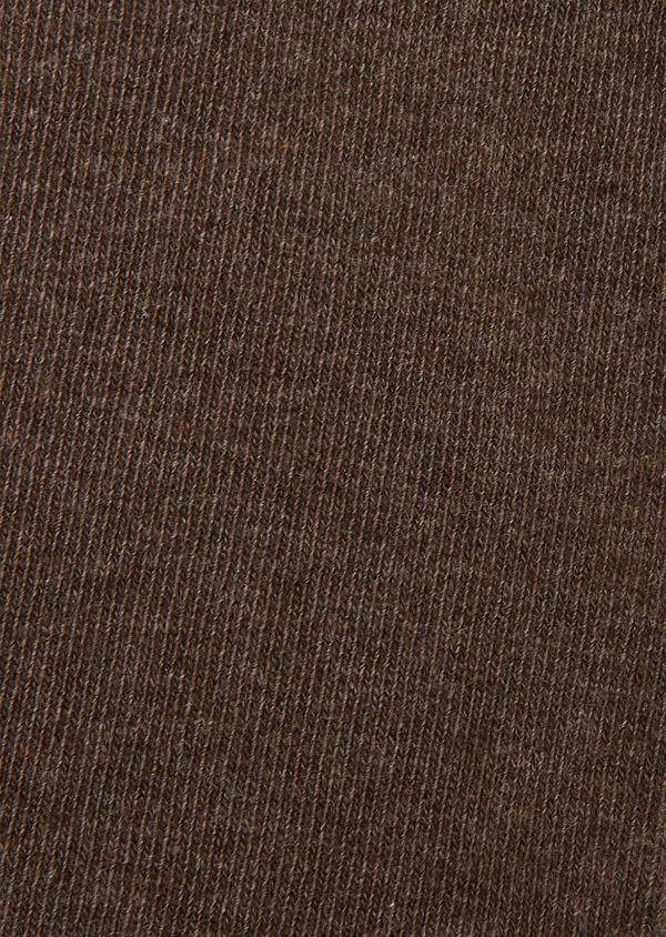 Chaussettes en coton mélangé beige uni - Father and Sons 25787