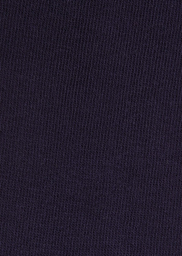 Chaussettes en coton mélangé violet prune uni - Father and Sons 25791