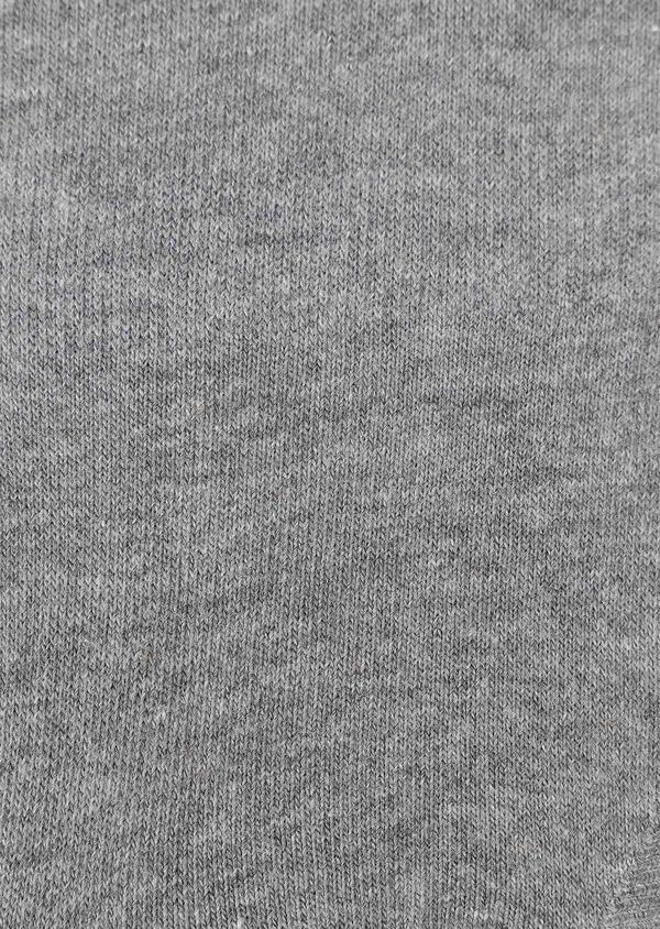 Chaussettes invisibles en coton uni gris - Father and Sons 28652