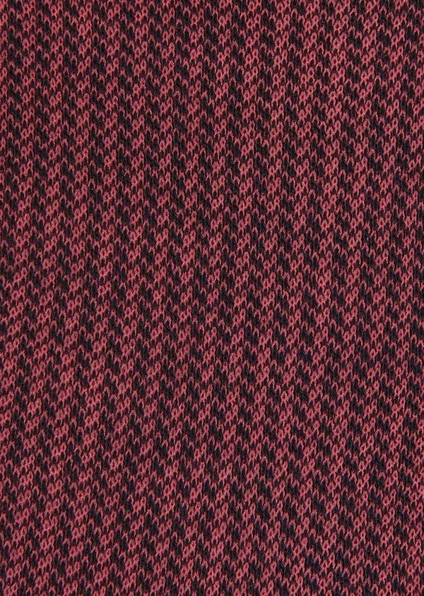 Chaussettes en viscose de bambou bleu marine à motif fantaisie rose - Father and Sons 32179
