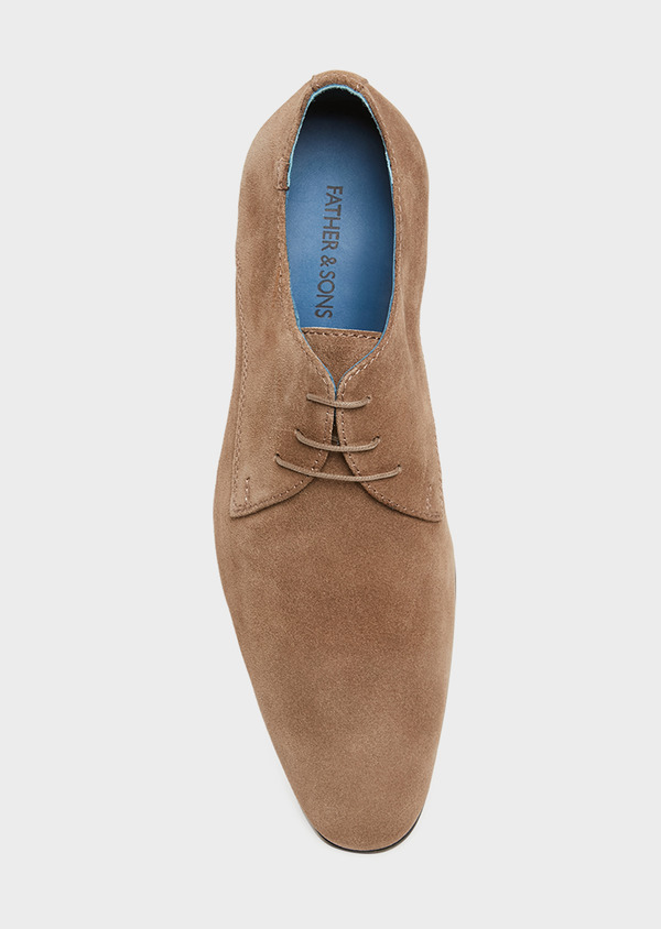 Richelieus en daim taupe - Father and Sons 32237