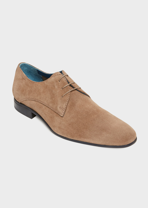 Richelieus en daim taupe - Father and Sons 32236