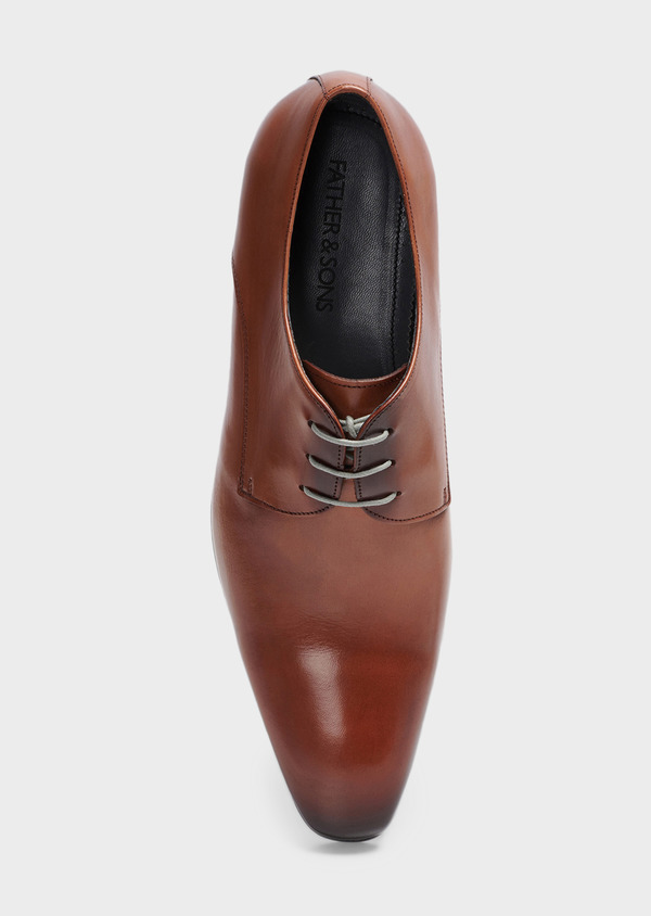 Derbies en cuir marron clair - Father and Sons 29504
