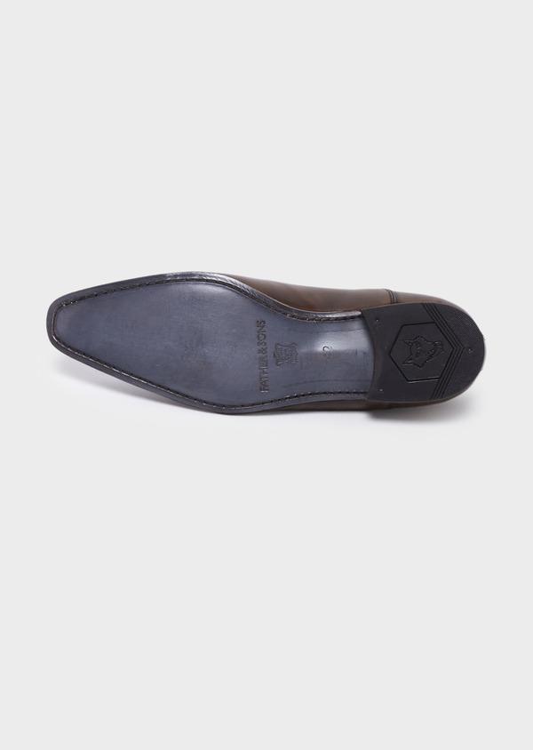 Richelieus en cuir lisse marron clair - Father and Sons 18920