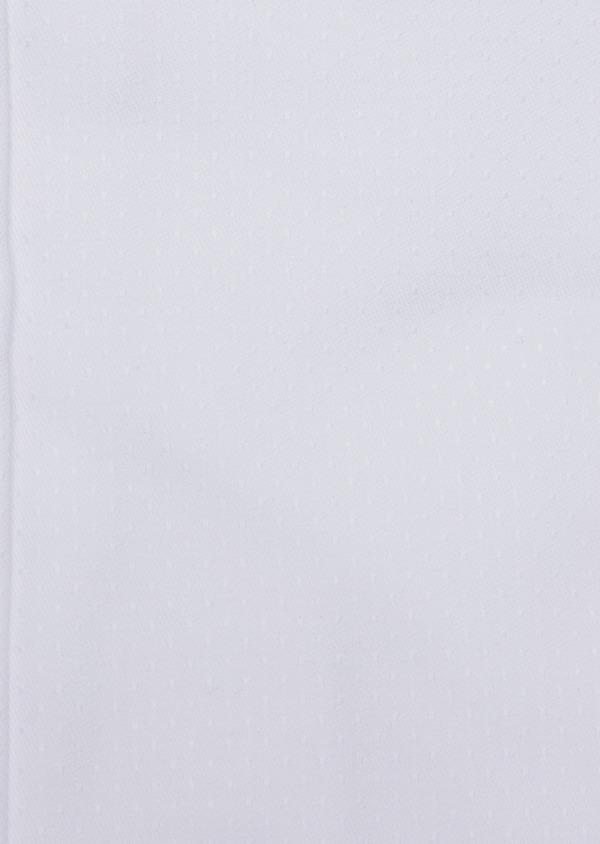 Chemise habillée Slim en coton façonné blanc à motif fantaisie - Father and Sons 34949