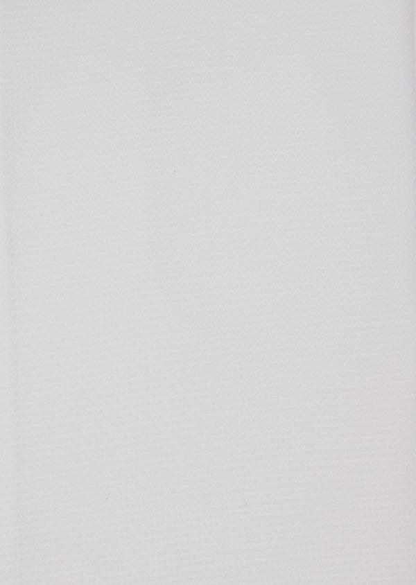 Chemise habillée Slim en coton façonné blanc à motif fantaisie - Father and Sons 36662