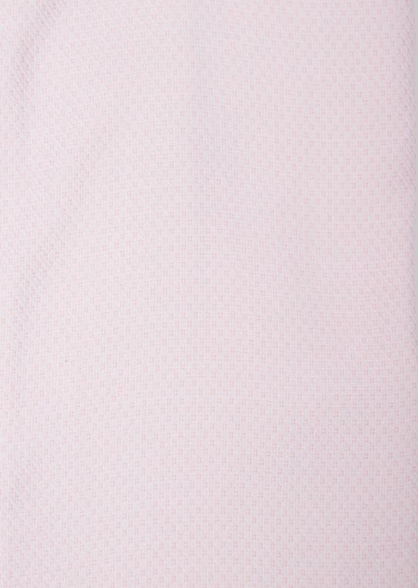 Chemise habillée Regular en coton Jacquard rose à pois - Father and Sons 36689