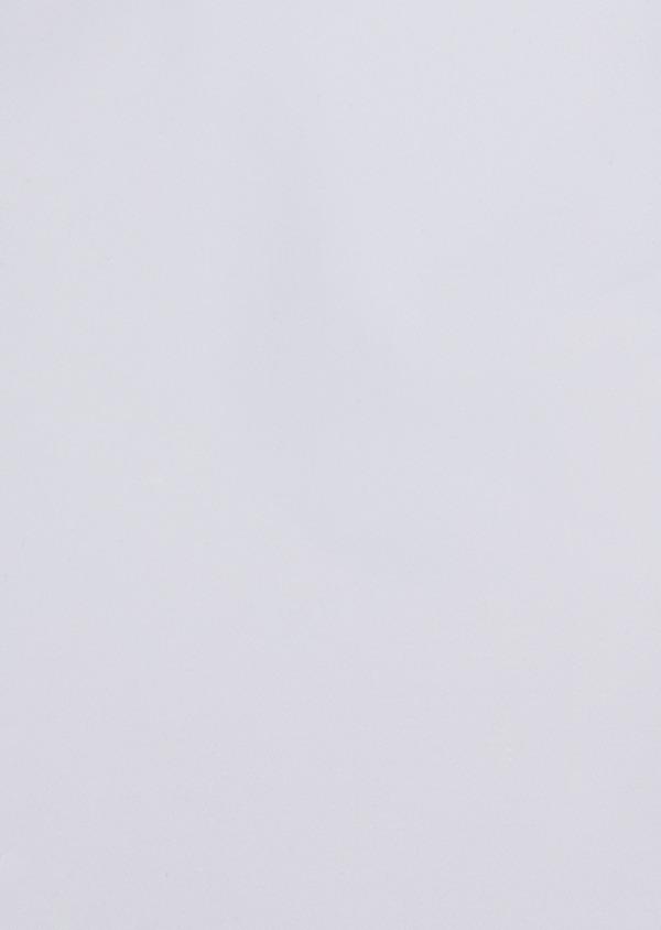Chemise habillée Slim en satin de coton uni blanc - Father and Sons 34925