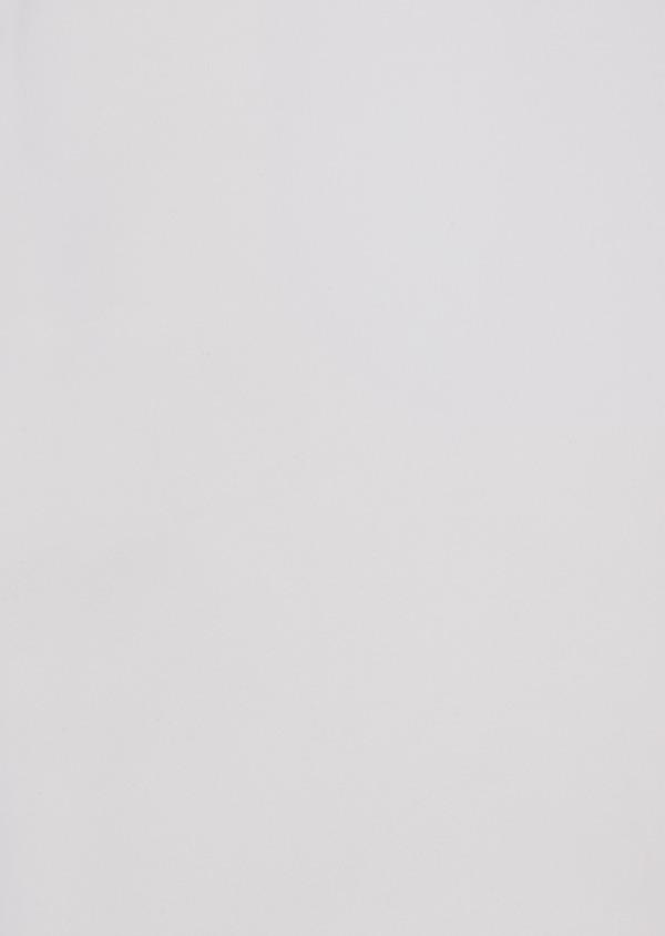 Chemise habillée Slim en satin de coton blanc - Father and Sons 36646