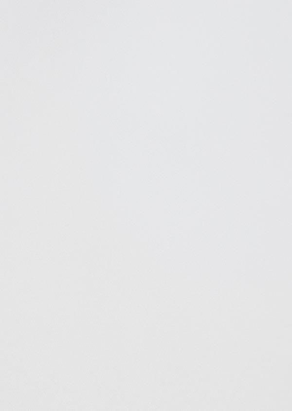 Chemise habillée Regular en satin de coton uni blanc - Father and Sons 39366