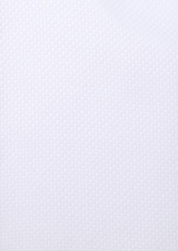 Chemise habillée Regular en coton façonné uni blanc - Father and Sons 34130