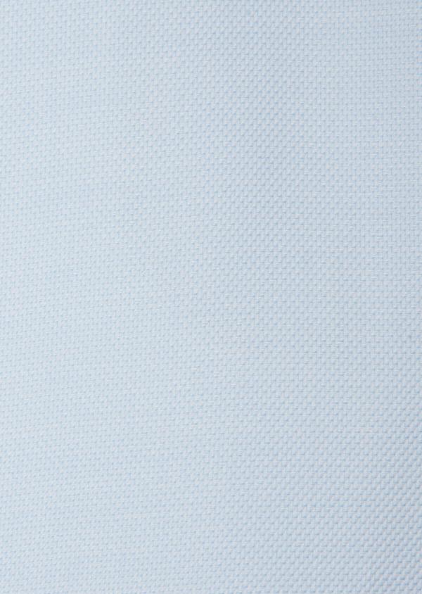 Chemise habillée Slim en coton façonné à motif fantaisie bleu ciel - Father and Sons 31754