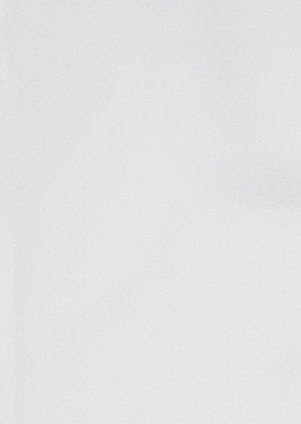 Chemise habillée Slim en popeline de coton blanc à pois ton-sur-ton - Father and Sons 32399