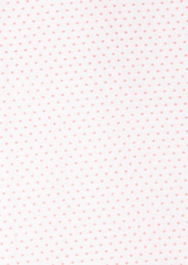 Chemise habillée Slim en popeline de coton à pois rose - Father and Sons 27525