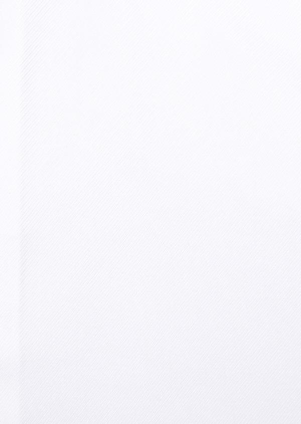 Chemise habillée Slim en coton façonné uni blanc - Father and Sons 32307