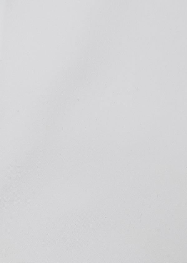 Chemise habillée Slim en satin blanc uni - Father and Sons 26135