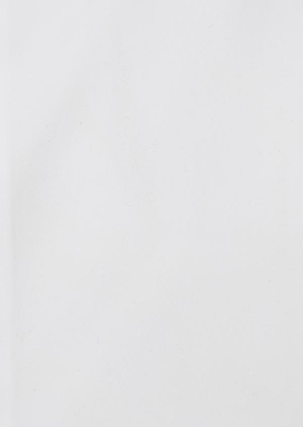 Chemise habillée Slim en popeline de coton uni blanc - Father and Sons 26161