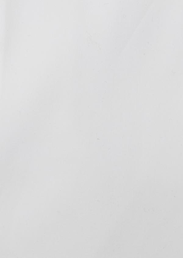 Chemise habillée Slim en satin blanc uni - Father and Sons 26168