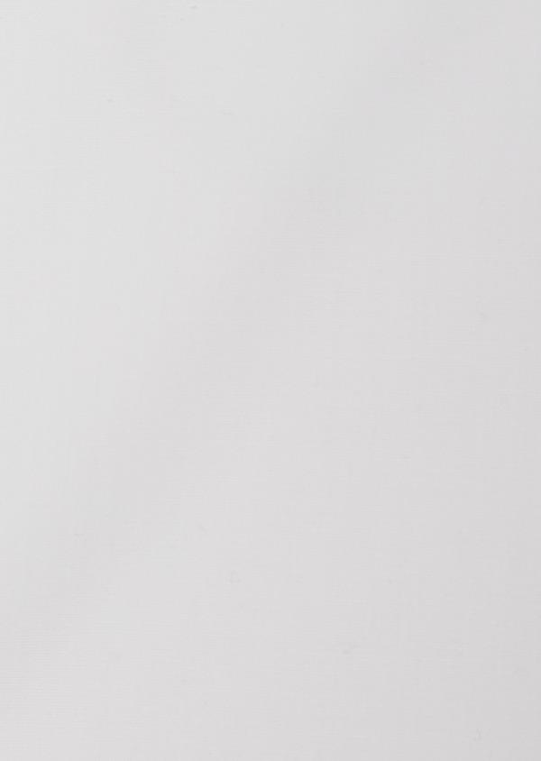 Chemise habillée non-iron Slim en popeline de coton uni blanc - Father and Sons 36530